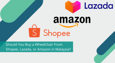 Should You Buy a Wheelchair From Shopee, Lazada, or Amazon in Malaysia?